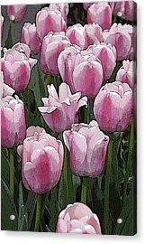 Flower Art06 Acrylic Print