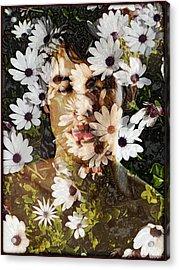 Flower Boy Acrylic Print