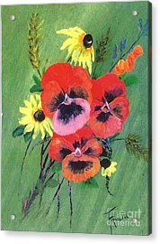 Flower Bunch Acrylic Print