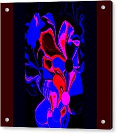 Flower Bush Acrylic Print
