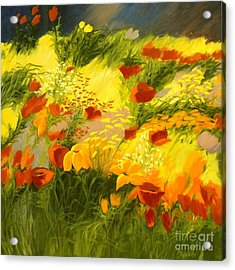 Flower Fantasy Acrylic Print by Madeleine Holzberg
