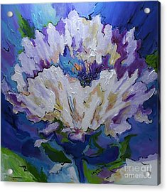 Flower For A Friend Acrylic Print by Alison Caltrider