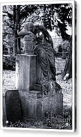 Flower For The Dead Acrylic Print by John Rizzuto