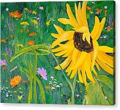 Flower Fun Acrylic Print