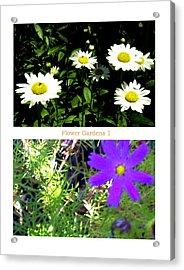Flower Gardens A Acrylic Print