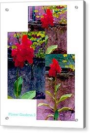 Flower Gardens C Acrylic Print