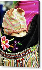 Flower Hmong Baby 02 Acrylic Print by Rick Piper Photography