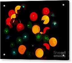 Flower Light Bunch Acrylic Print