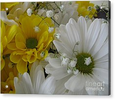 Flower Mix Acrylic Print