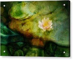 Flower Of Hope Acrylic Print by Gun Legler