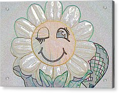 Flower Of The Balloon Festival Acrylic Print