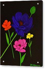 Flower Play Acrylic Print