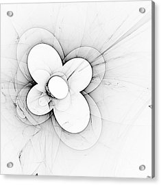 Flower Power Acrylic Print by Arlene Sundby