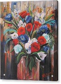 Flower Pride Acrylic Print
