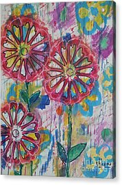Flower Smile  Acrylic Print