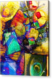 Flower Soldiers Acrylic Print by Robert M Cooper