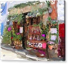 Flower Store Acrylic Print