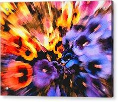 Flower Trip Acrylic Print