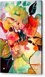 Flower Vase No. 2 Acrylic Print by Michelle Abrams
