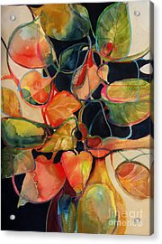 Flower Vase No. 5 Acrylic Print by Michelle Abrams