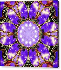 Flowergate Acrylic Print