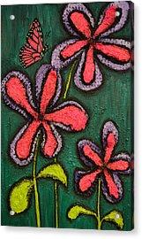 Flowers 4 Sydney Acrylic Print by Shawn Marlow