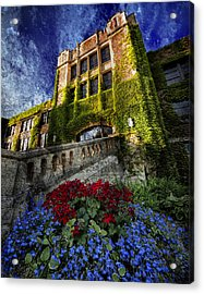 Flowers At Somsen Hall Acrylic Print