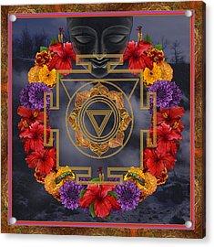 Flowers For Kali Ma Acrylic Print