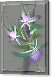 Flowers For You Acrylic Print