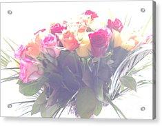 Flowers In A Dream Acrylic Print