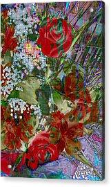 Flowers In Bloom Acrylic Print by Liane Wright