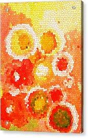 Flowers Iv Acrylic Print by Patricia Awapara
