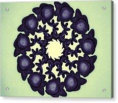 Flowers Of Algebra Acrylic Print by Michael Jordan