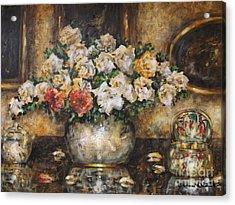 Flowers Of My Heart Acrylic Print