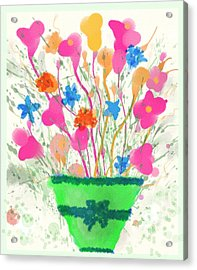 Flowers Of Spring Acrylic Print