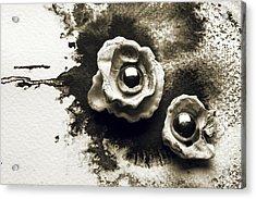 Flowers Of The Ocean Acrylic Print by Rohan Sandhir