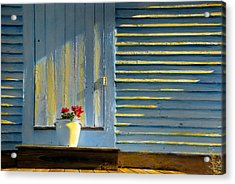 Flowers On The Porch Acrylic Print