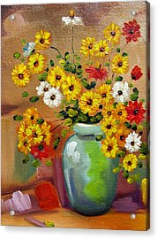Flowers - Still Life Acrylic Print