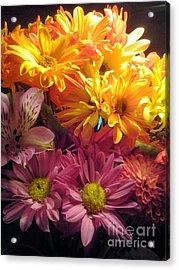 Flowers2 Acrylic Print by Susan Townsend