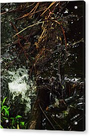 Flowing And Churning Of The Kaaterskill Acrylic Print