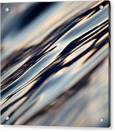 Flowing Glass Acrylic Print