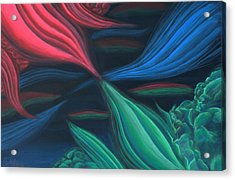 Flowing Harmony Acrylic Print