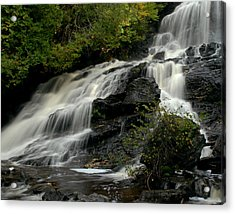 Flowing Peace Acrylic Print by Tammy Collins