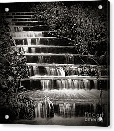 Flowing Stairs Acrylic Print by Charmian Vistaunet