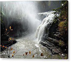 Flowing Tranquility Acrylic Print by Mike Feraco