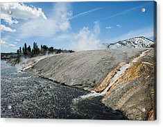 Flows Flowing Acrylic Print