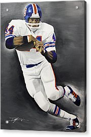 Floyd Little Acrylic Print by Don Medina