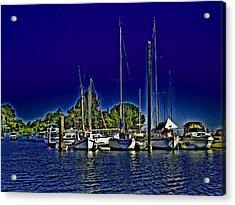 Floyd On The Delta Loop Acrylic Print