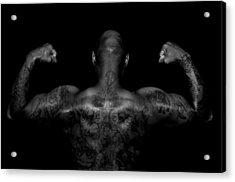 Body Art Acrylic Print