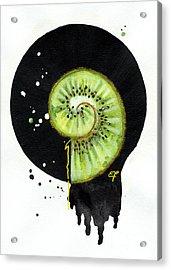 Fluidity 12 - Elena Yakubovich Acrylic Print by Elena Yakubovich